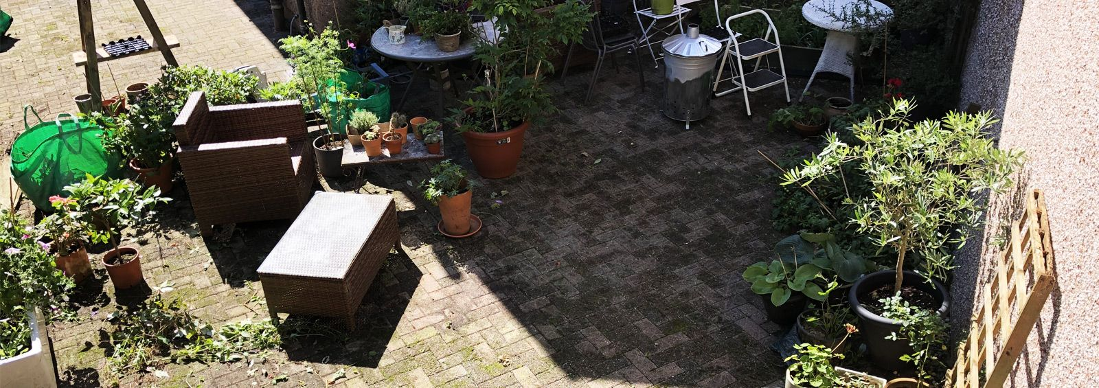 patio pressure washing services gyffin conwy